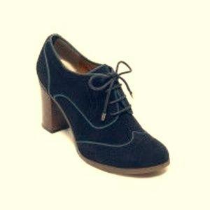 Tommy Hilfiger Women's Fabiole Shoes Suede Oxford